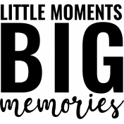 The Good Life: May 2020 Stamps Kit - little moments big memories template