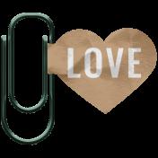 The Good Life - May 2020 Mini Kit - Clip Heart