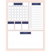The Good Life: May 2020 Dashboards Kit - Dashboard monthly 8.5 x 11