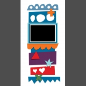 Travelers Notebook Layout Templates Kit #9- template 9d