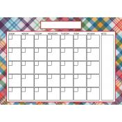 The Good Life: June 2020 Calendars Kit- 2 calendar 5x7 blank