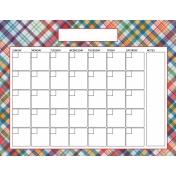The Good Life: June 2020 Calendars Kit- 2 calendar 8.5x11 blank