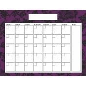 The Good Life: June 2020 Calendars Kit- 3 calendar 8.5x11 blank