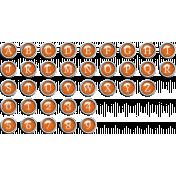 The Good Life: June 2020 Alphas Kit- Alpha 2 orange