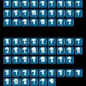 The Good Life: June 2020 Alphas Kit- Alpha 54 blue