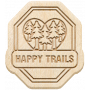 The Good Life: June 2020 Mini Kit- wood happy trails
