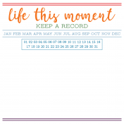 The Good Life- June 2020 Pocket Cards- Card 19 4x4