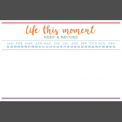 The Good Life- June 2020 Pocket Cards- Card 19 4x6