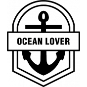The Good Life- July 2020 Stamps #2- Ocean Lover Template