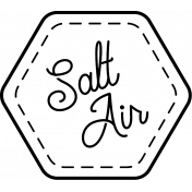 The Good Life- July 2020 Stamps #2- Salt Air Template