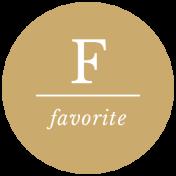 The Good Life - July 2020 Labels & Words - Label Favorite