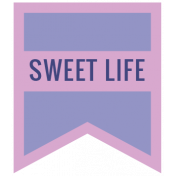 The Good Life August 2020 Labels & Words label sweet life (2)