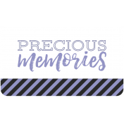 The Good Life August 2020 Labels & Words precious memories