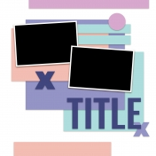 Layout Templates Kit #59 - layout Template 59D