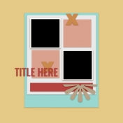 Layout Templates Kit #60- Layout Template 60a