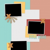 Layout Templates Kit #60- Layout Template 60c