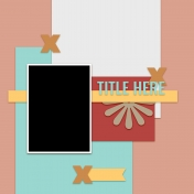 Layout Templates Kit #60- Layout Template 60d