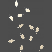 The Good Life - October 2020 Elements -  sequins leaves 2