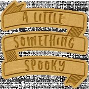 The Good Life- October 2020 Mini Kit- letterpress something spooky