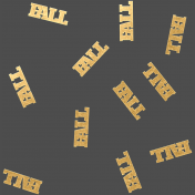 The Good Life- October 2020 Mini Kit- sequins fall