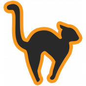 The Good Life- October 2020 Stickers & Tags Kit- cat