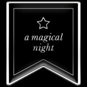 The Good Life- October 2020 Samhain Mini Kit- enamel a magical night