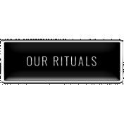 The Good Life- October 2020 Samhain Mini Kit- enamel our rituals