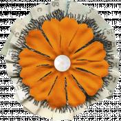 The Good Life- October 2020 Samhain Mini Kit- flower 02
