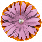 The Good Life- October 2020 Samhain Mini Kit- flower 03