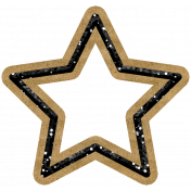 The Good Life- October 2020 Samhain Mini Kit- glitter star 2
