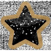 The Good Life- October 2020 Samhain Mini Kit- glitter star