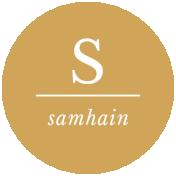 The Good Life- October 2020 Samhain Mini Kit- label samhain