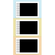 Travelers Notebook Layout Templates Kit #13 - Layout Template 13a