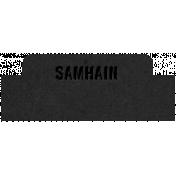 The Good Life- October 2020 Samhain Mini Kit- letterpress samhain 2