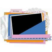 Pocket Cluster Templates Kit #13- Pocket Cluster Template 13e