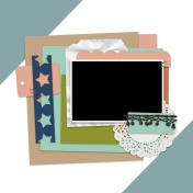 Layout Templates Kit #62- Template 62C