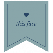 The Good Life: November 2020 Labels Kit- this face