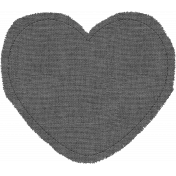Templates Grab Bag #34- Large Burlap Mat Heart Template
