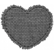 Templates Grab Bag #34- Small Burlap Mat Heart Template