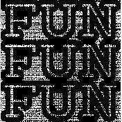 The Good Life- December 2020 Stamps- Fun Fun Fun 2 Template