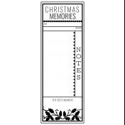The Good Life- December 2020 Christmas B&W Journal Me- JM 01 3x8