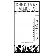 The Good Life- December 2020 Christmas B&W Journal Me- JM 01 TN