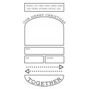 The Good Life- December 2020 Christmas B&W Journal Me- JM 02 TN