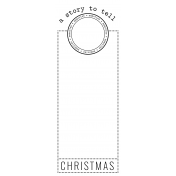 The Good Life- December 2020 Christmas B&W Journal Me- JM 06 3x8