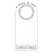 The Good Life- December 2020 Christmas B&W Journal Me- JM 06 TN