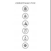 The Good Life- December 2020 Christmas B&W Journal Me- JM 08 TN