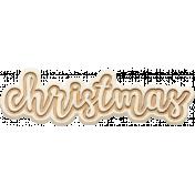 The Good Life: December 2020 Christmas Elements- Christmas Word Art