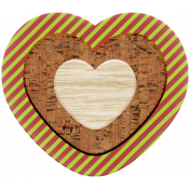 The Good Life: December 2020 Christmas Elements- Heart 01