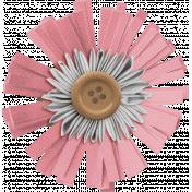 The Good Life: December 2020 Pink Christmas Elements Kit- Flower 02