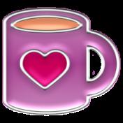The Good Life 21 Jan Enamel Mug